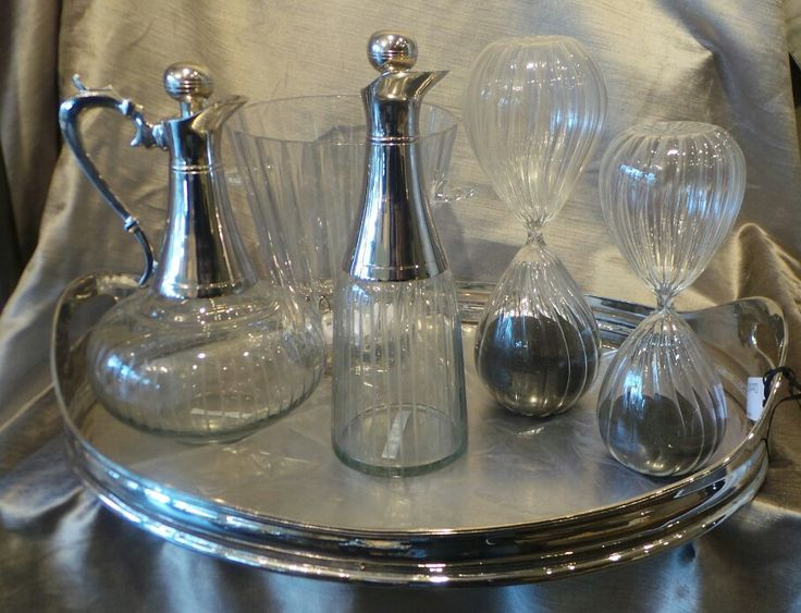 Decanter hour glasses