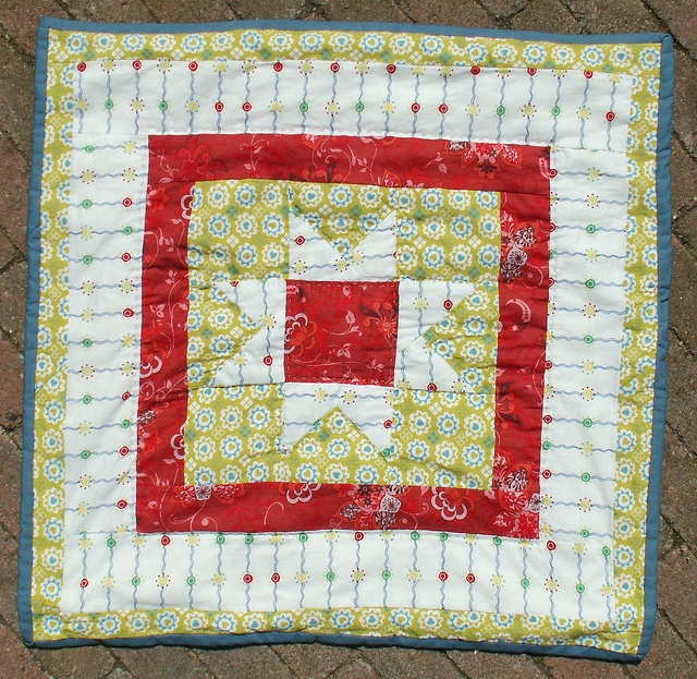 12 Little Quilt of Love #21 by Alphenquilts, via Flickr