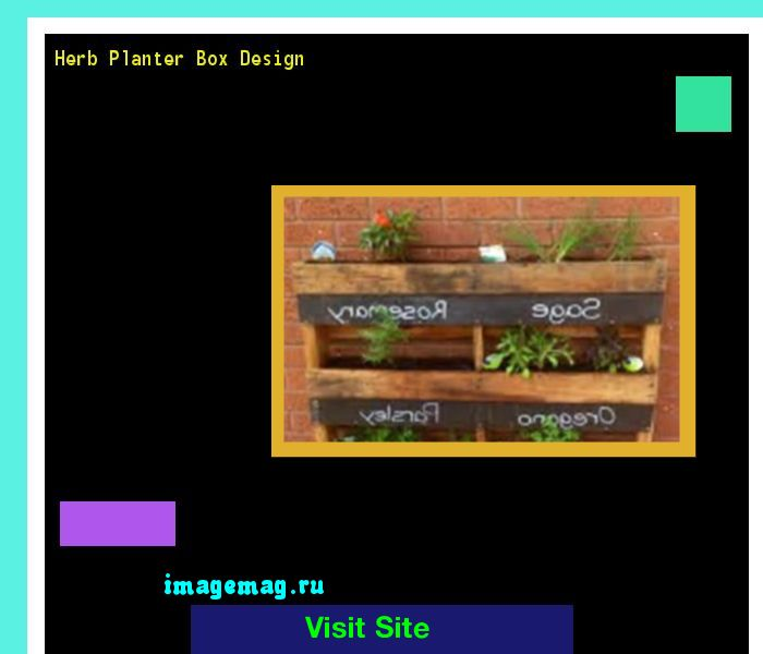 Herb Planter Box Design 101000 - The Best Image Search