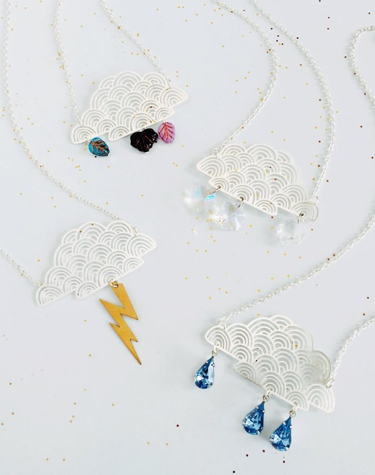 You Cannot Be Cirrus Cloud Necklace