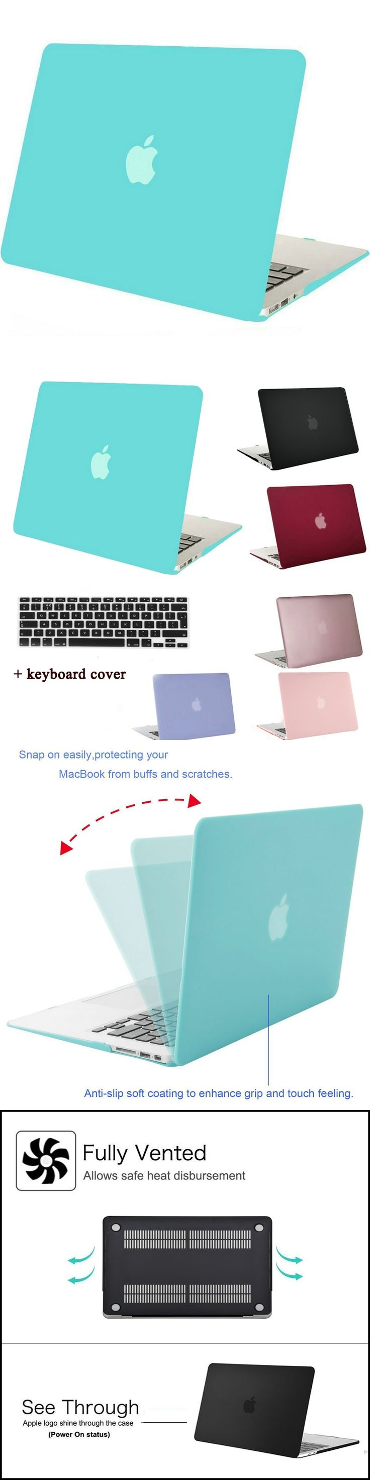 MOSISO Clear Matte Case Cover for Macbook Air 13 11 Plastic Hard Case for Mac book Pro 13 15 Retina Laptop Shell+Keyboard Cover