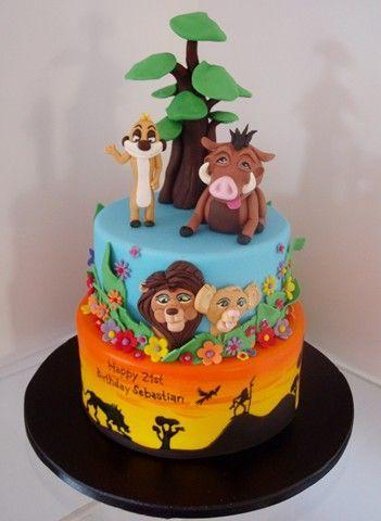 D Lion Cake