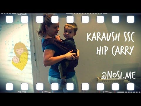 Karaush baby carrier hip carry