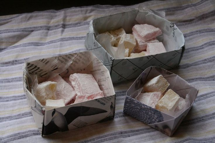 """What would you like best to eat?""  ""Turkish Delight, please, your Majesty,"" said Edmund."