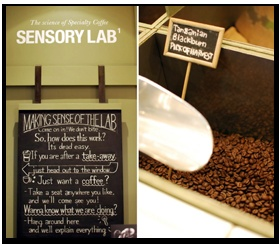 For serious coffee, head to Sensory Lab