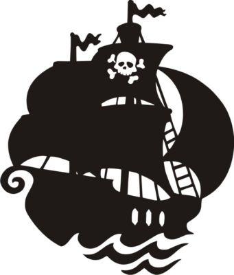 pirate ship - cute