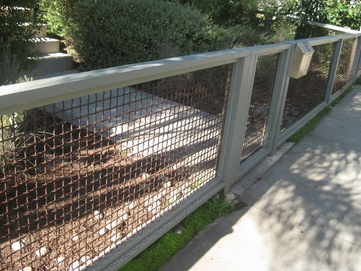 17 Best Ideas About Chain Link Fence On Pinterest Chain