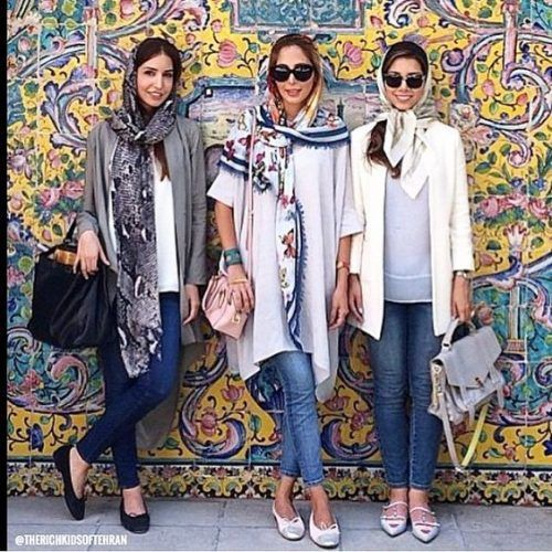 tehran-street-style- Iranian women fashion trend