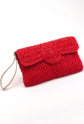 Trina Turk | Adele . . . chic beaded crochet clutch
