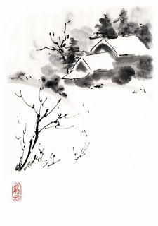 Искусство суми-э  (sumi-e) или суибокуга   (suibokuga) – это японская адаптация китайской техники живописи тушью.  Выразительность работ су...