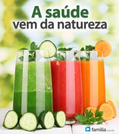 Familia.com.br | Receitas para sucos com legumes escondidos para crianças