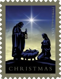Nativity Forever stamp – USA