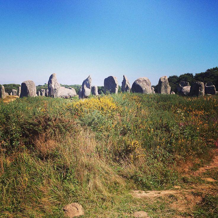 Alignements mégalithiques de Carnac, France, Bretagne