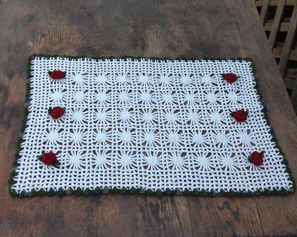Crochet Lace Placemat