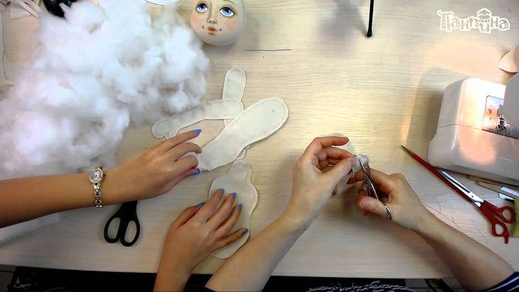 """Часть 1. Кукла своими руками. Создание куклы """"Эльза""""."""