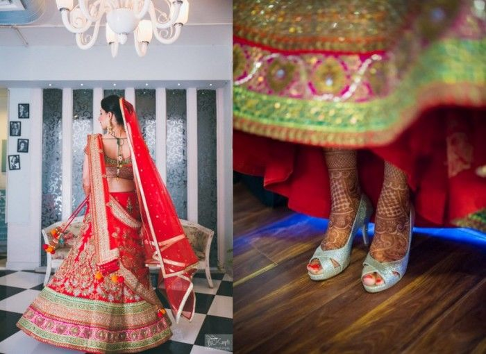 Bridal  Color Crush : Red and Pink