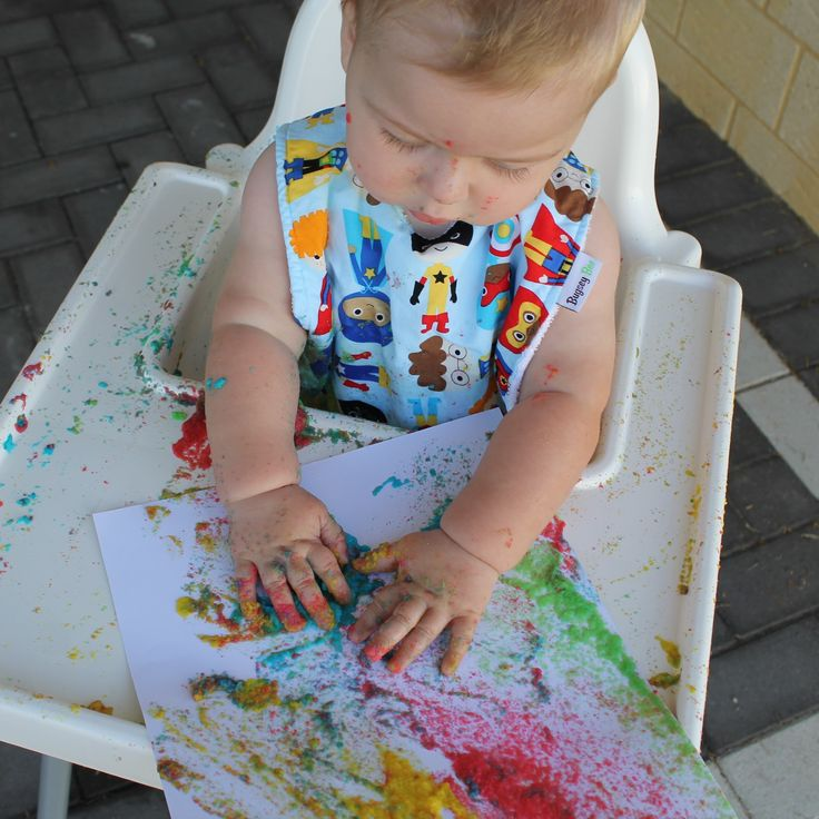Check it out! eatable paint for babies