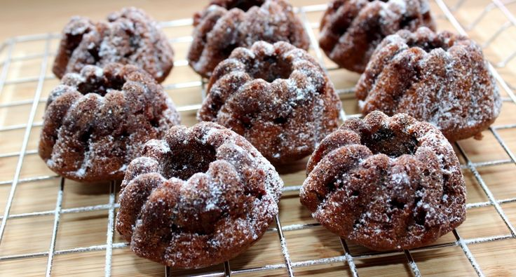 Csokis mini kuglóf recept