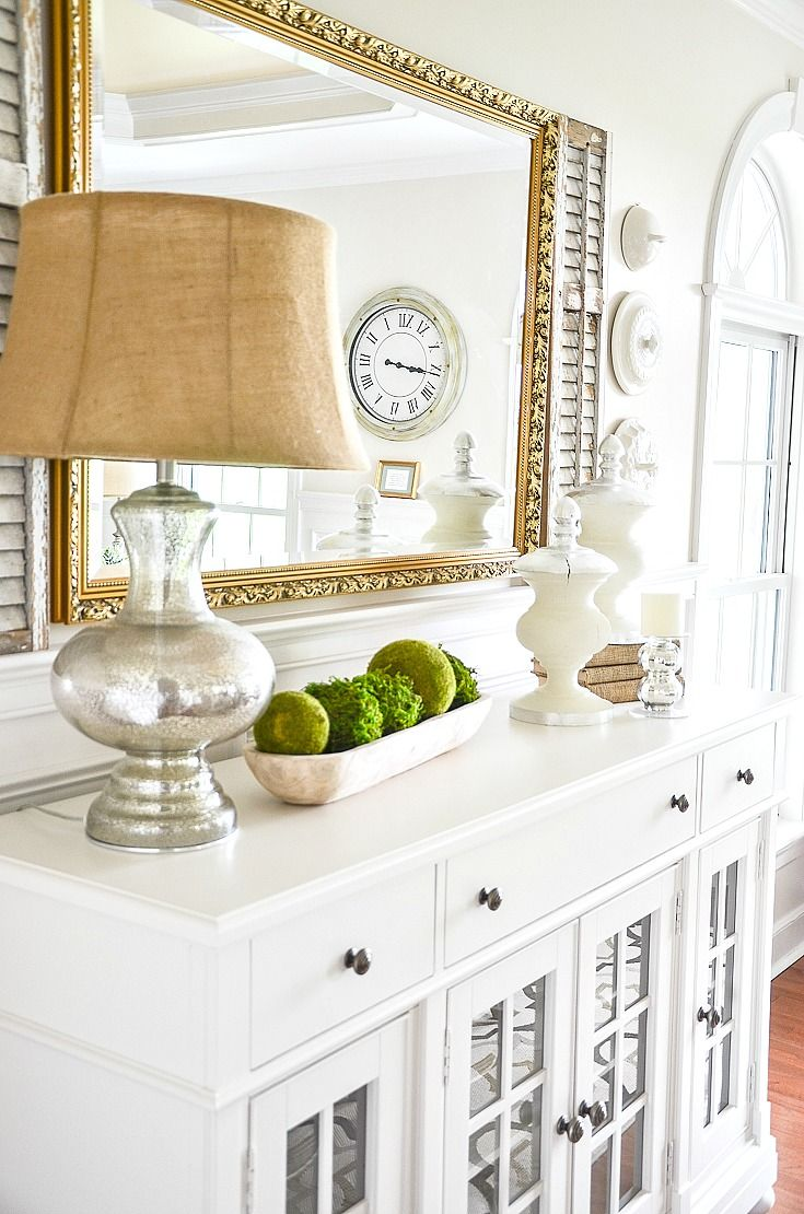 Decorating Sideboards And Buffets Farm House Living Room Sideboard Decor Home Decor