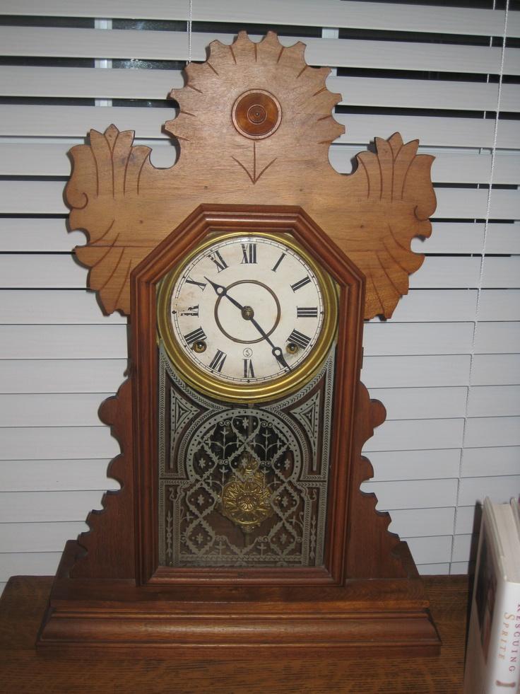 15 best 1900s mantel clocks images on Pinterest  Antique