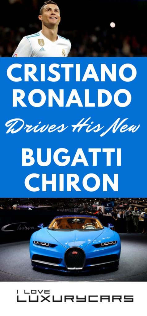 Cristiano Ronaldo Drives His New Bugatti Chiron   Here's why the Bugatti Chiron is perfect for the world's greatest soccer star.   https://iloveluxurycars.com/bugatti-chiron-new-cristiano-ronaldo-news/?utm_source=pin