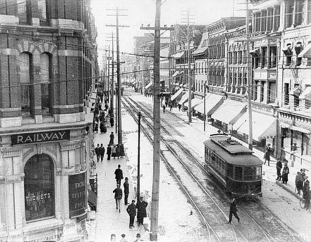 Sparks St. 1909 Ottawa, ON