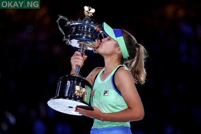 Australian Open Sofia Kenin Wins First Grand Slam Title In 2020 Australian Open Grand Slam New Champion