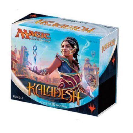 Magic the Gathering MTG Kaladesh Fat Pack Bundle Box - 10 booster packs +more