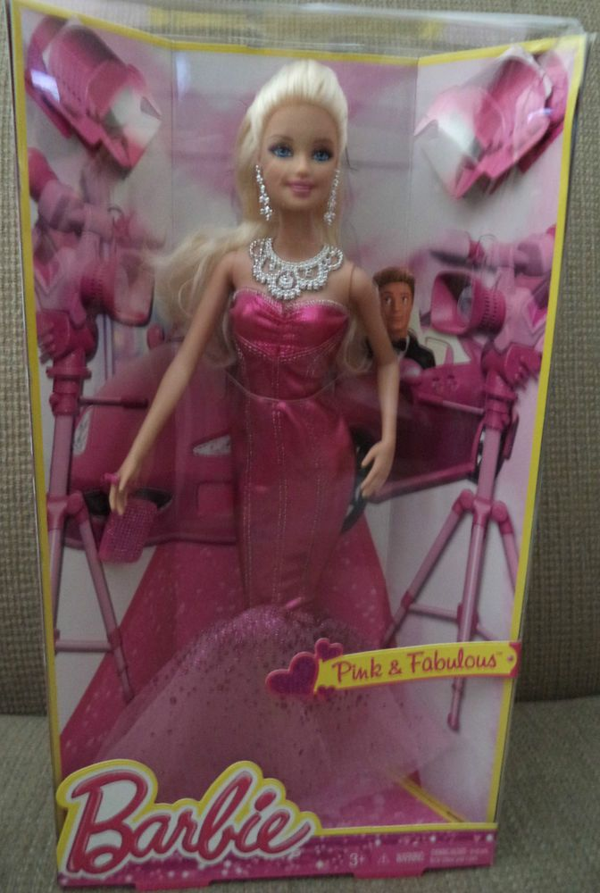 2013 BARBIE PINK & FABULOUS LIFE IN THE DREAMHOUSE *Nu* #BARBIEMATTEL