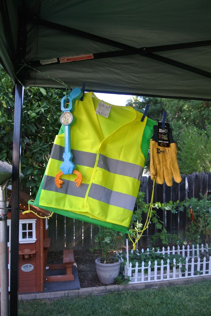 12 best garbage truck birthday images on pinterest for Ikea safety vest