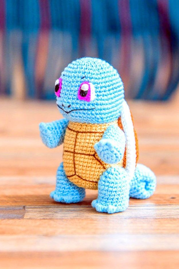Gible Pokemon Crochet Pattern | Strings Away | 938x625