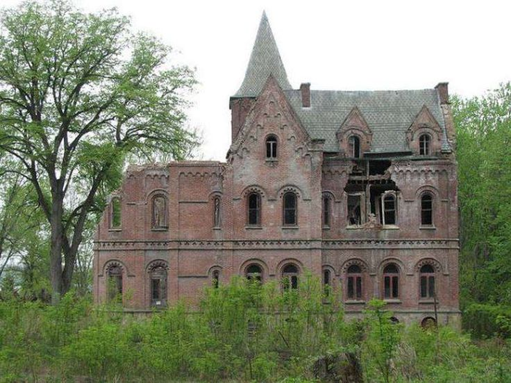 Top 20 Amazing Abandoned Mansions of the World | Wyndcliffe: Derelict Mansion, Rhinebeck, New York