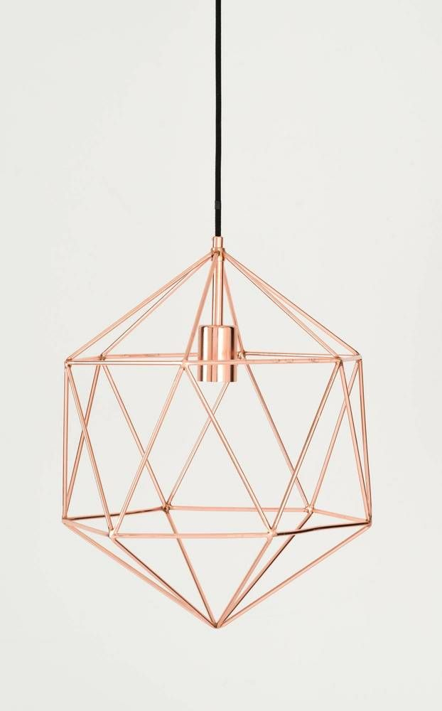 Gil Pendant Copper by Shiraleah