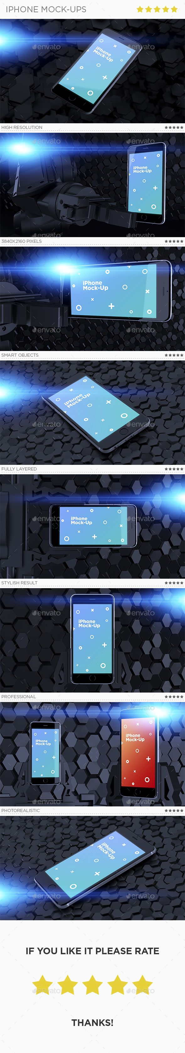 iPhone Mock-Ups