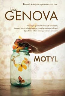 Motyl - Lisa Genova  #booksmylove #books #książki #recenzje #review