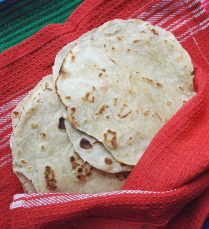 Flour and Corn Tortillas All in One