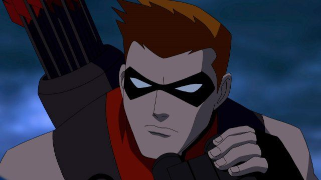 Young Justice: What A GREAT LOOKING CARTOON ! I love me some Roy Harper !