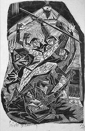 Lívio Abramo, Sem Tìtulo, Do livro Pelo Sertão, 1946