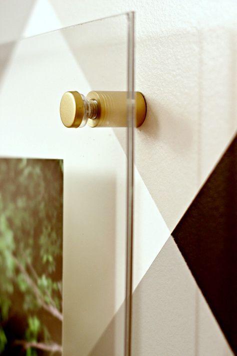 DIY Floating Acrylic Frame Tutorial  ||  How to make a custom lucite frame