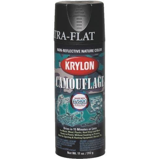 Krylon/Consumer Div Black Camo Spray Paint K04290007 Unit: Each