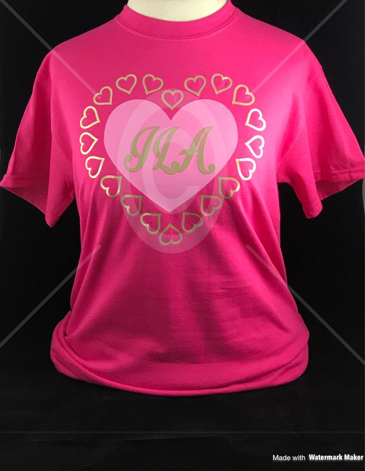 Excited to share the latest addition to my #etsy shop: Monogram Heart Shirt, Cute Monogram Shirt, Girl Valentine Shirt, Country Girl Shirt, Heart Monogram Shirt, Vinyl Monogram Shirt, Pink Heart