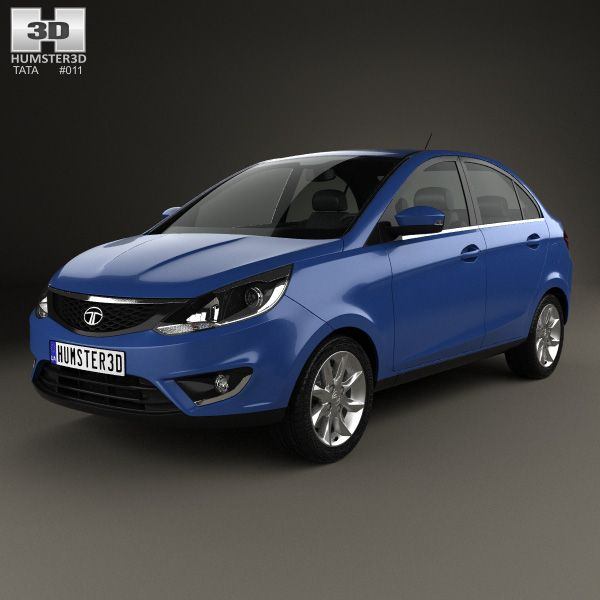 Tata Zest 2014 3d model from humster3d.com