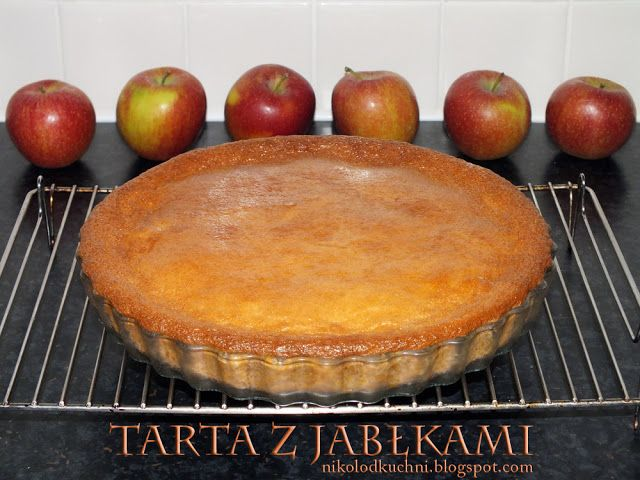 Nikol Od Kuchni: Puszysta Tarta z Jabłkami