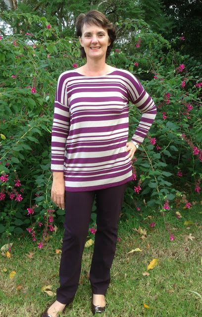 Style Arc Beth in bengaline, Tessuti Mandy in rayon knit.
