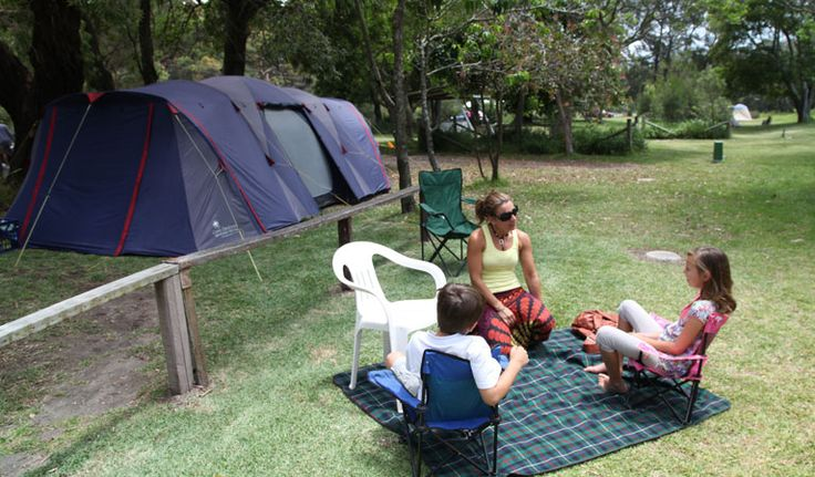 Stay at Bonnie Vale campground in Royal National Park. It offers tent, trailer…