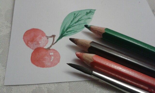 Water color pencils