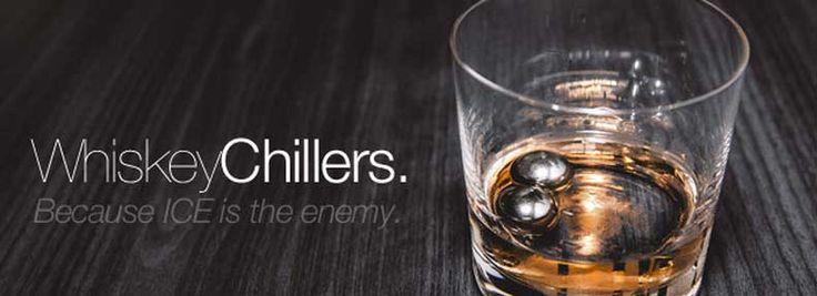 """Chill Your Whiskey While Doing Good""- Bourbon & Banter"