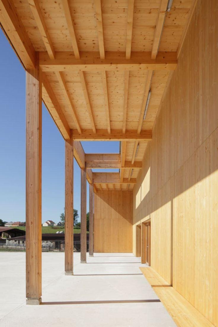 Bernard Quirot architecte + associés, Luc Boegly · École et Salle Polyvalente