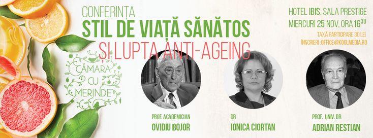 Stil de viata sanatos si lupta anti-ageing