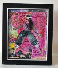 Framed Art Print - Step Right Up, $20